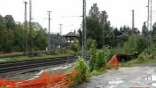 Arbeiter stirbt nach Stromschlag im Bahnhof Guntershausen