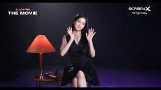 BLACKPINK THE MOVIE: JISOO - LET'S MEET ON AUGUST 4 & 8|ScreenX