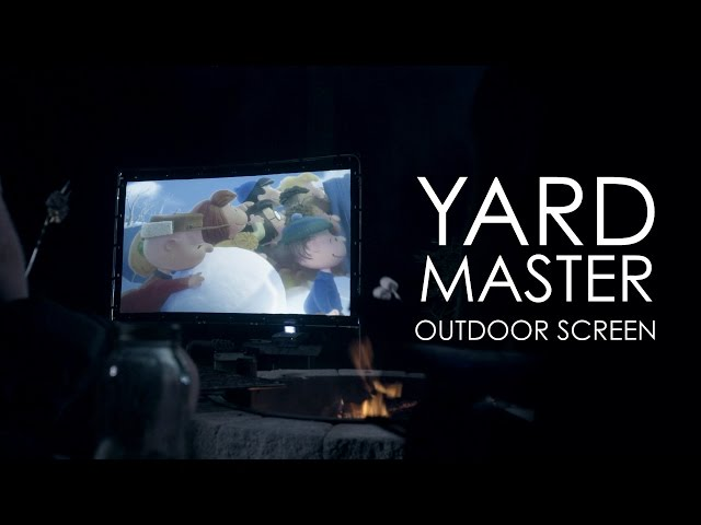 Elite Screens Yard Master Series (OMS103HR) Outdoor Projection Screen