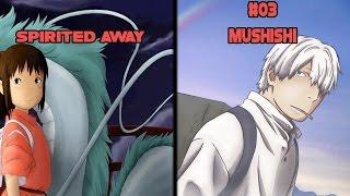 Top 5 Animes Similar to Spirited Away