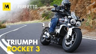 Triumph Rocket 3 2500 TEST. Non mi basta mai! [English sub.]
