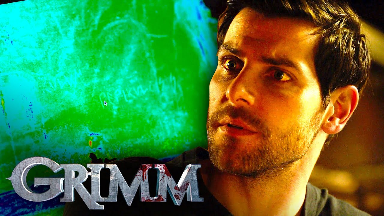 Nick Scans The Ancient Cloth | Grimm