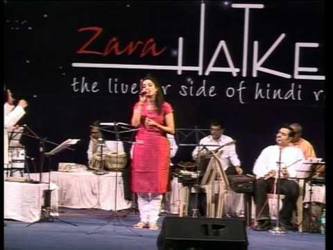 Aage bhi jaane na  tu by Divya Raghavan at Zara Hatke