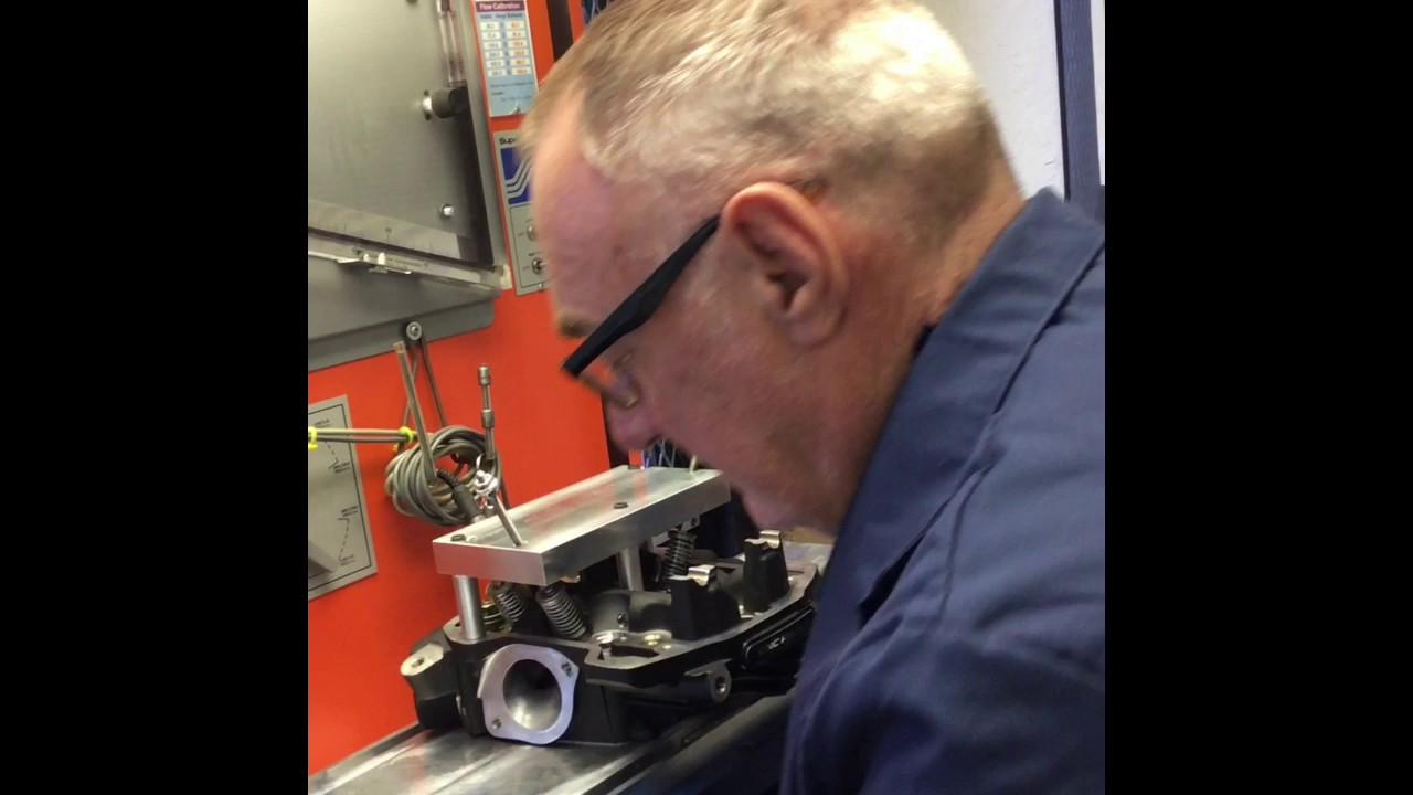 Harley Davidson M8 107/114 cylinder head Flow Testing