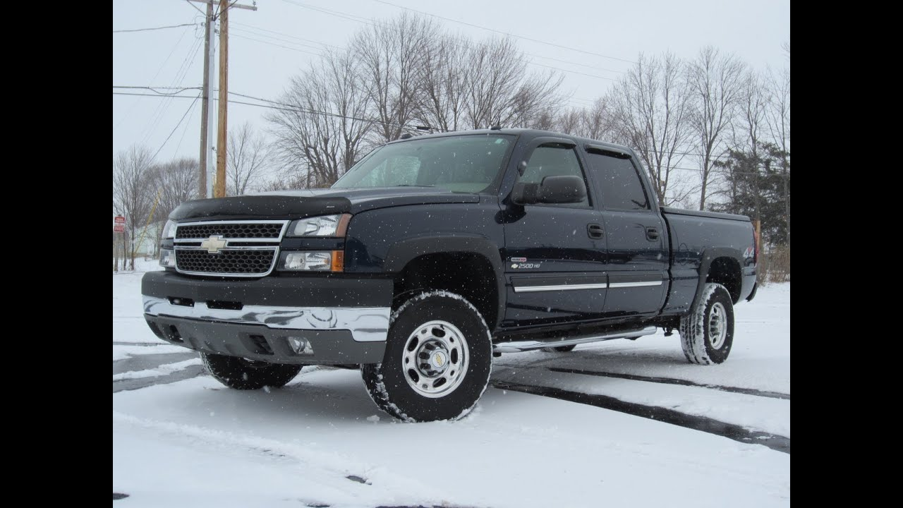 2005 chevy 2500hd lt 4x4 51k miles duramax diesel sold youtube. Black Bedroom Furniture Sets. Home Design Ideas