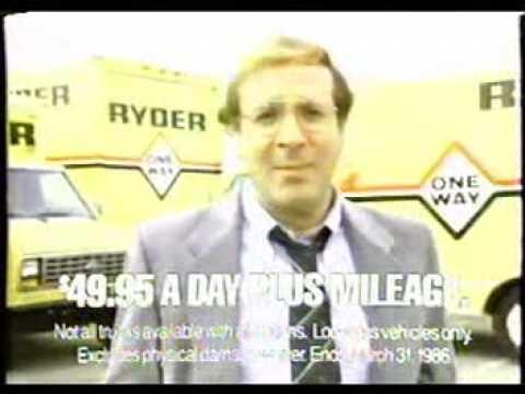 Ryder Truck commercial with Steve Landesberg