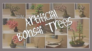 Artificial Bonsai/cherry Blossom Tutorial