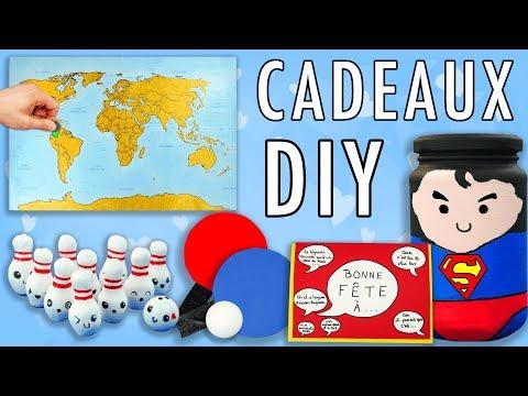 7 DIY FETE DES PERES IDEES CADEAUX FACILES