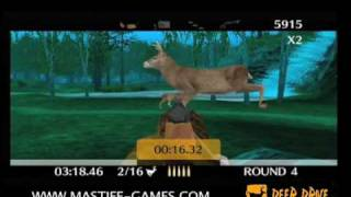 Deer Drive hunting game on Nintendo Wii Shoot those bears