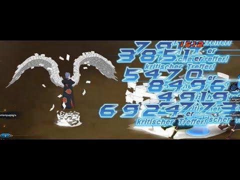 NARUTO ONLINE 🍃: ANGEL GOD KONAN VS. EDO HIRUZEN 😇 || Cross Server GNW
