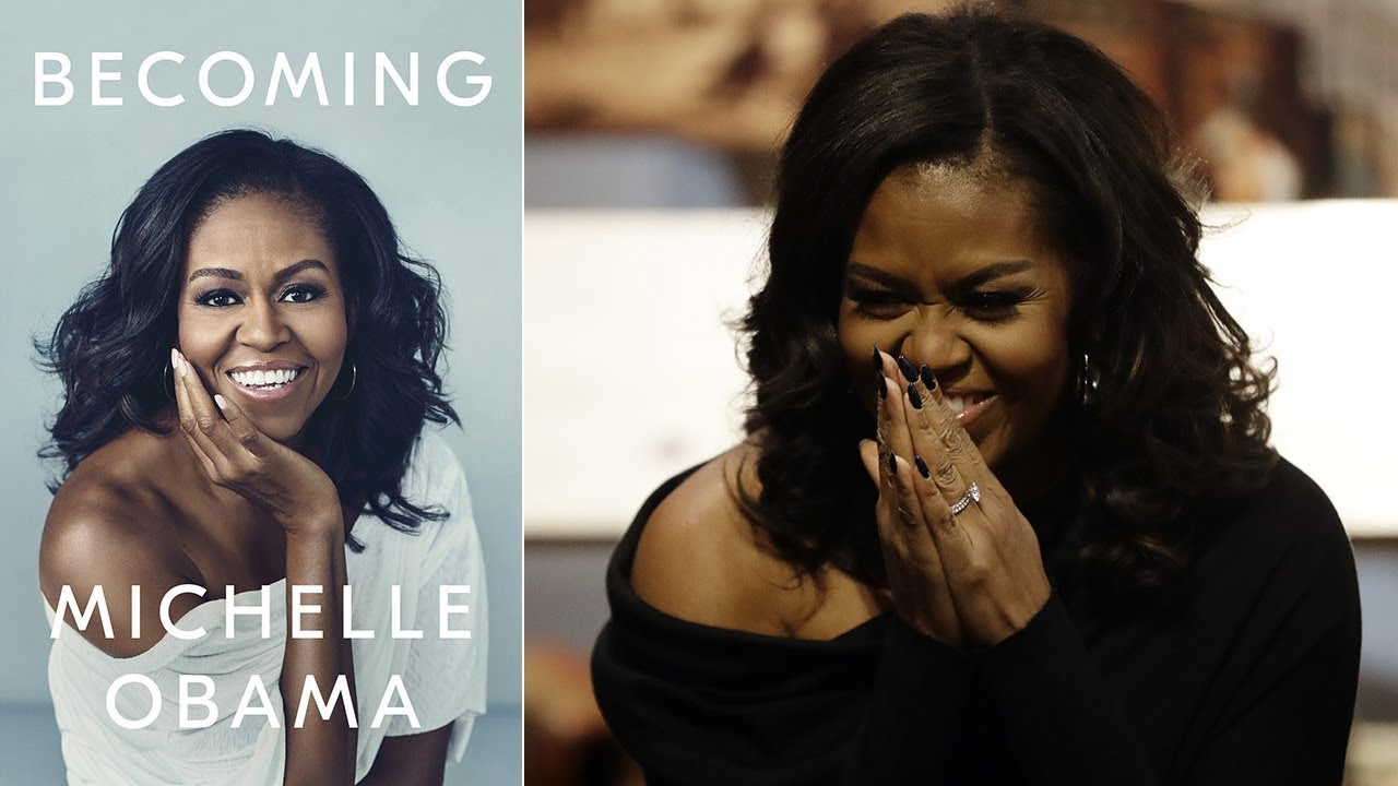 3271cbd87e Michelle Obama holds New York City book signing of best-selling 'Becoming'