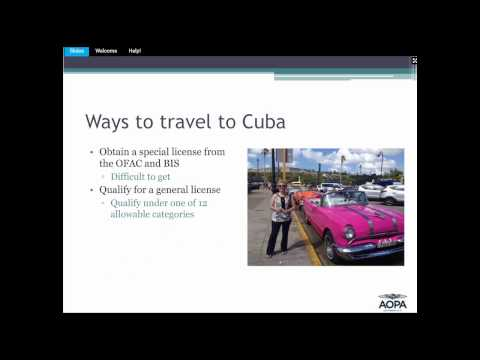 Flying To Cuba: Update For General Aviation Pilots
