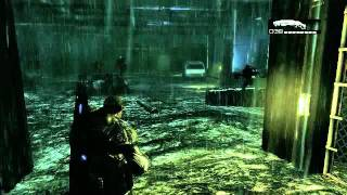 [XBOX360] Gears of War 1 Act3-1(Belly of the Beast - Downpour)