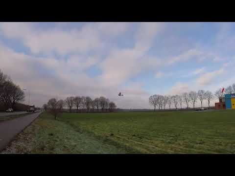 Gopro: PH-SHO landing at heli-port Emmen