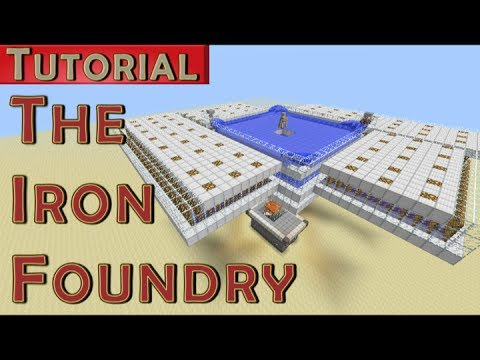 The Iron Foundry - Iron Golem Farm - 1700 Iron/hr (Works in