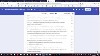 Test Positionnement 2e 2018 - 06 - Analyse et exploitation des réponses