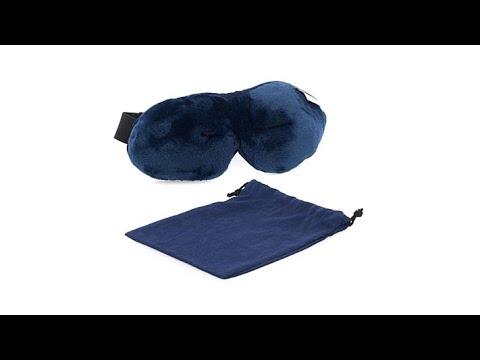 ed8b06548e1 Brookstone UltraPlush ZeroPressure Sleep Mask - YouTube