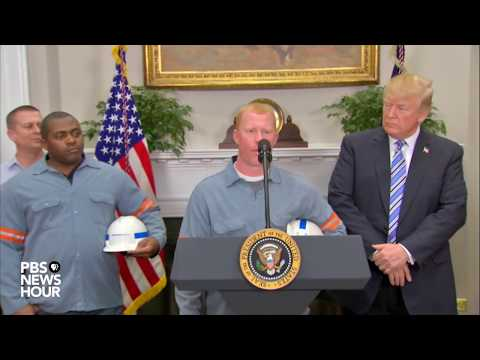 WATCH: President Trump expected to announce tariffs on imported steel and aluminum