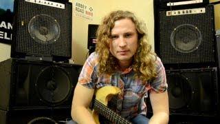 Как настроить гитару? 4 способа.(Кое что о настройке электрогитары. Тирада 100 обучающих видео для электрогитары., 2013-02-18T08:12:51.000Z)