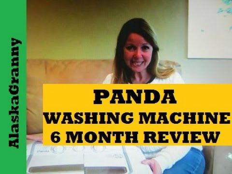 Panda Compact Washing Machine Review After 6 Months - YouTube