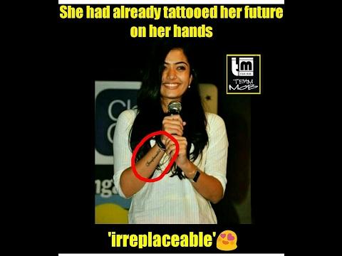 Rashmika Mandanna Funny Facts | Rashmika Mandanna Tattoo Kirik Party | Rashmika Mandanna Rahasya