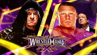 Brock Lesnar Vs Undertaker Wrestlemania 30 HD Promo 21-1