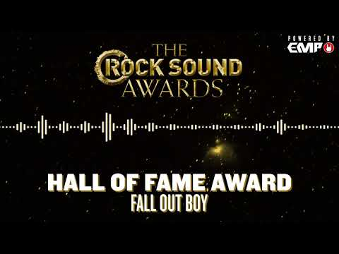 Rock Sound Awards Powered By EMP: Hall Of Fame Award - Fall Out Boy