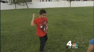 8-Year-Old Boy Uses Karate to Escape Murder Attempt
