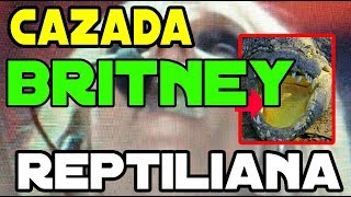 Transformacion reptiliana Britney Spears en Lagarta Beta