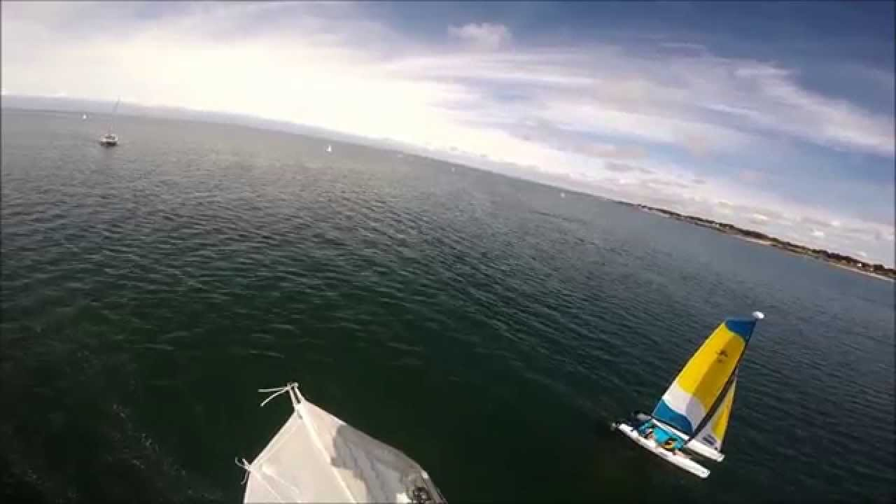 Vu Du Ciel Plan D Eau De Piriac Sur Mer Npb 2015 Youtube