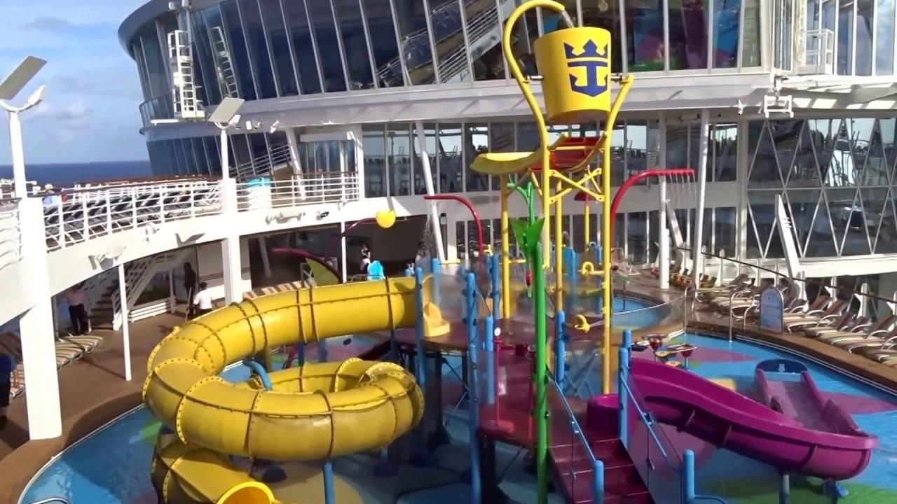 Allure Of The Seas Water Slide Water Ionizer