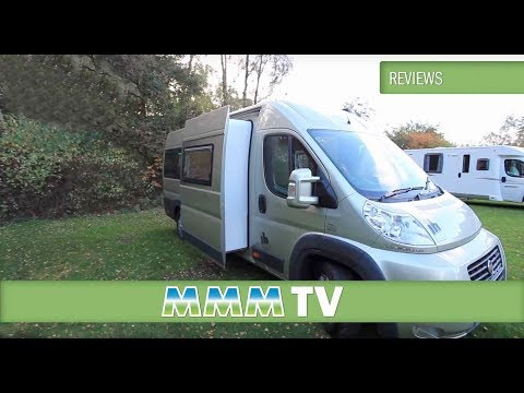 MMM TV motorhome review: IH N-Class 630 SL campervan - the High-Top Van Conversion of the Year 2014
