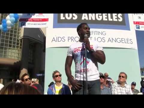 """Norm Lewis performs """"You'll Never Walk Alone"""" at 28th Annual AIDS Walk Los Angeles 2012 from YouTube · Duration:  2 minutes 14 seconds"""