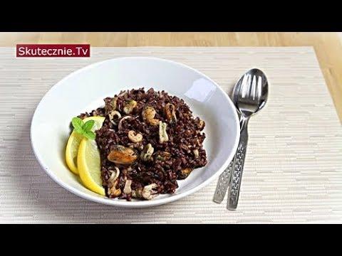 Owoce morza na czarnym ryżu z masłem i cytryną :: Skutecznie.Tv [HD]