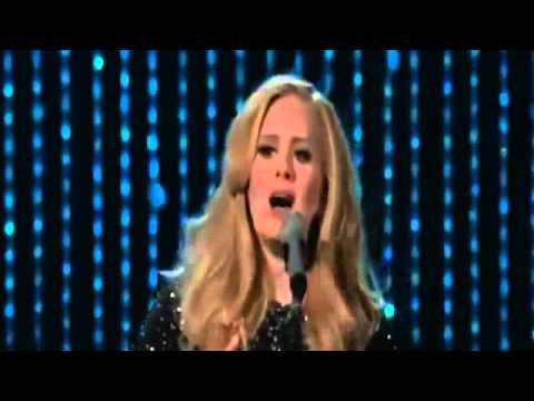 ADELE ARRASA no OSCAR 2013 cantando SKYFALLCANAL1000= O MELHOR DO BRASIL!!!