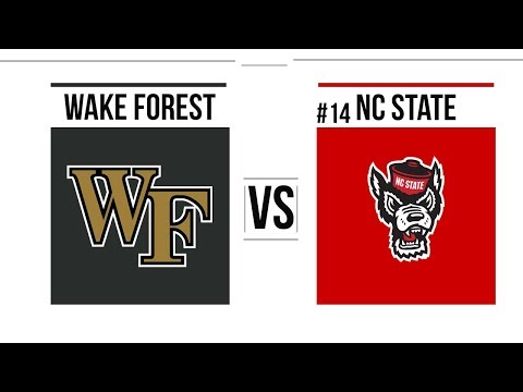 Week 11 2018 Wake Forest vs #14 NC State Full Game Highlights