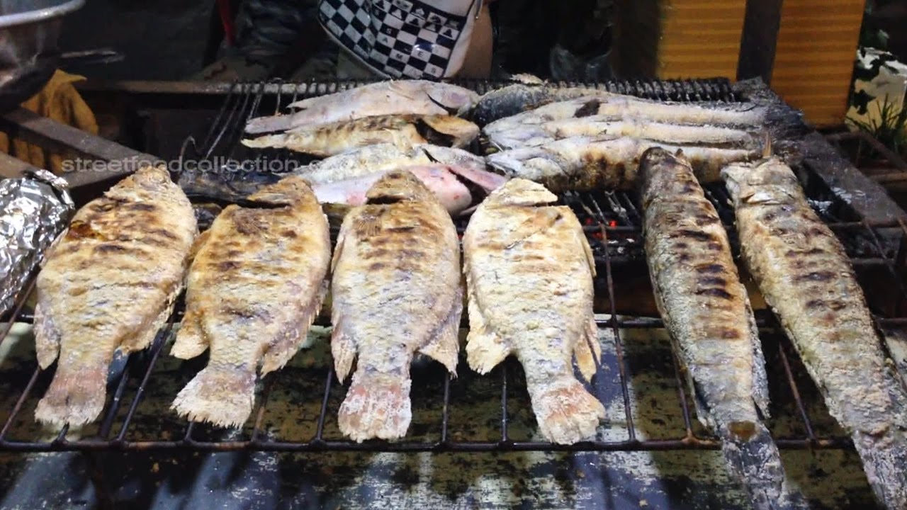 Streets Foods-Asian Streets foods-Khmer foods,grilled ...
