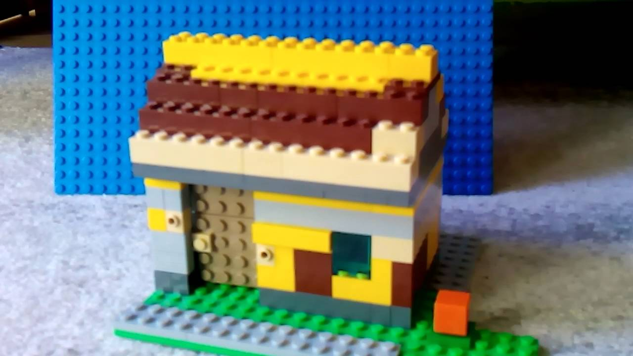 Lego Minecraft Wioska Npc Youtube
