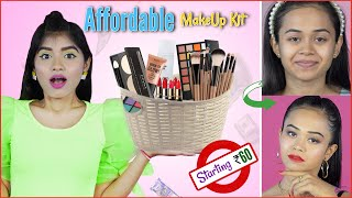 Beginner's Make Up Kit I Step-By-Step Guide To A Look Using These Products| DIYQueen