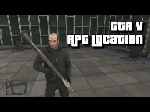 GTA V - RPG Secret Location