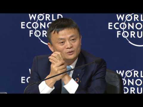 Jack Ma Alibaba Davos inspired motivation quotes  2017