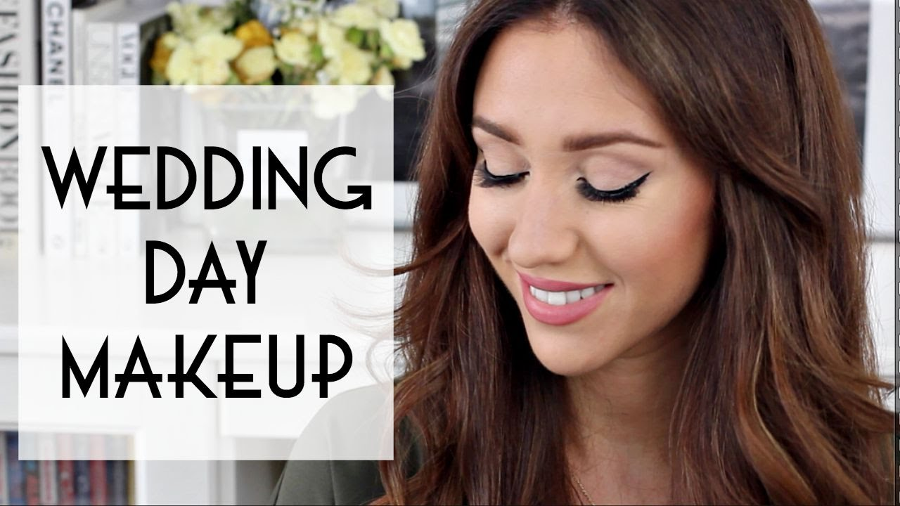 Wedding Day Drugstore Makeup : My Wedding Day Makeup Tutorial - YouTube
