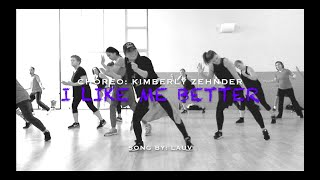 I Like Me Better by Lauv. (Pre-cooldown) Choreo: Kimberly Zehnder.