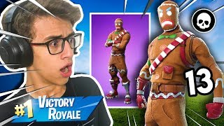I BOUGHT THE RARE SKIN OF THE CHRISTMAS BISCUIT! FORTNITE BATTLE ROYALE