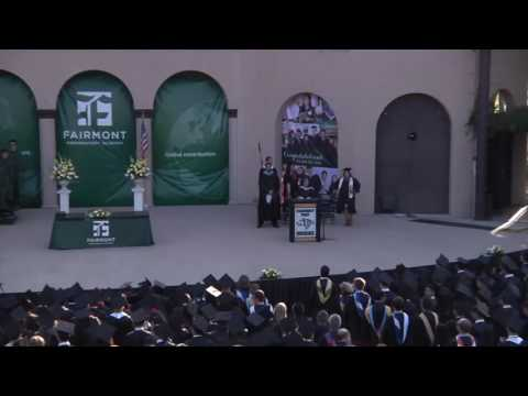 Commencement Ceremony - Class of 2016 (Fairmont Preparatory Academy)