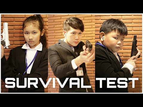 PNB Agents - Survival Test   By Pea Nut Butter Studios