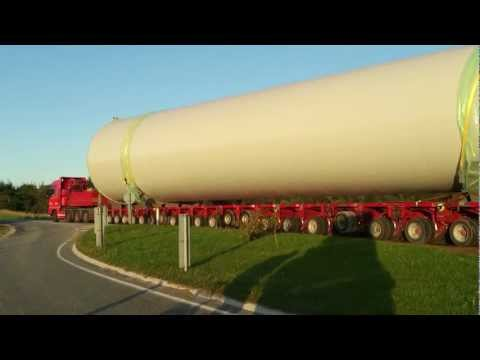 World's largest wind turbine Østerild (Denmark)