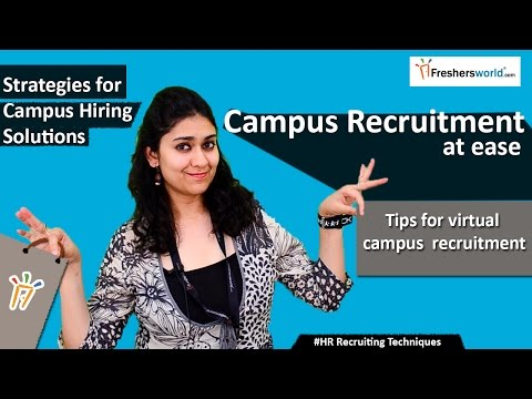 Top 5 strategies for better Campus Recruitment