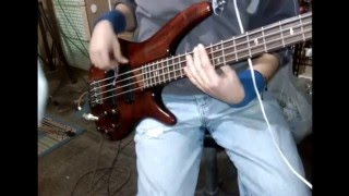 Time+Breathe (Reprise), Pink Floyd, Bass Cover