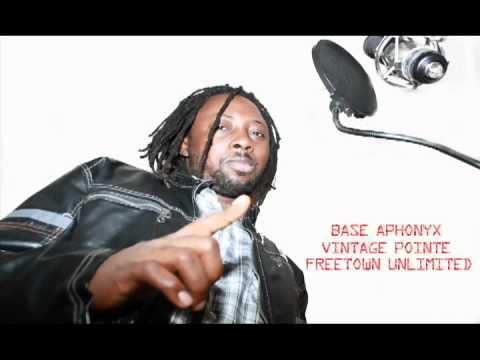 BASE APHONYX - AM SORRY - SIERRA LEONE MUSIC - SLFUNTV - FREETOWN -UNLIMITED